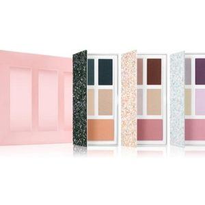 Clinique 3 Piece Eyeshadow/Blush Glitter Pallets